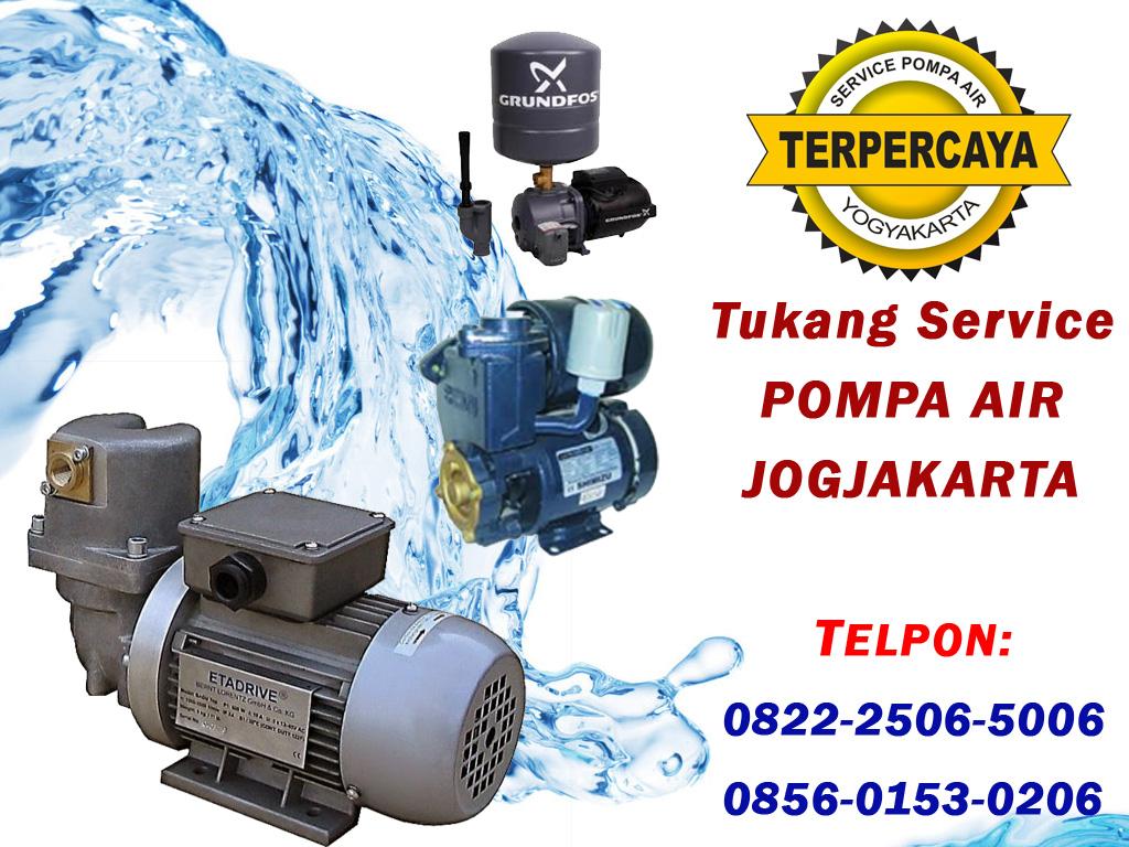 Tukang Servis Pompa Air Jogjakarta dan Sekitarnya